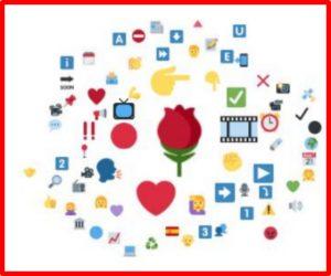 Los emojis más usados en la campaña electoral de 2019